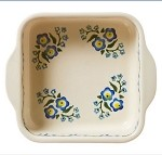 Forget Me Not Square Oven Dish