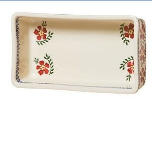 Old Rose Medium Rectangular Oven Dish