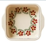 Old Rose Square Oven Dish