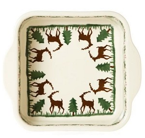 Reindeer Square Oven Dish