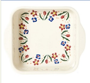 Wildflower Meadow Square Oven Dish