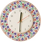 Wildflower Meadow Kitchen Clock