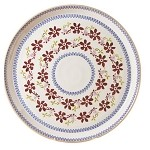 "Clematis Footed 11"" Cake Plate"