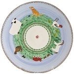 Landscape Footed Cake Plate 9''