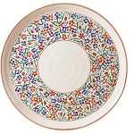"Wildflower Meadow Footed 11"" Cake Plate"