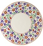 Wildflower Meadow Footed Cake Plate 9''