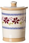 Clematis Storage Jar