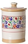 Wild Flower Meadow Storage Jar