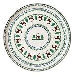 "Reindeer Footed 11"" Cake Plate"