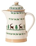 Reindeer Coffee Pot NEW