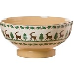 Reindeer Large Bowl