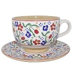 Wild Flower Meadow Large Cup & Saucer