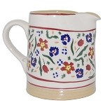 Wild Flower Meadow Small Cylinder Jug