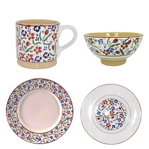 Nicholas Mosse Wild Flower Meadow 4 Pc Place Setting