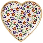 Wildflower Meadow Tiny Heart Plate