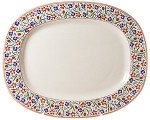 Wildflower Meadow Oval Platter