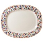 Wild Flower Meadow Oval Platter
