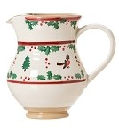 Winter Robin Medium Jug