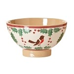 Winter Robin Small Bowl