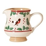 Winter Robin Small Jug