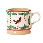 Winter Robin Small Mug