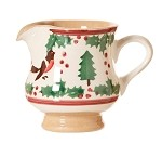 Winter Robin Tiny Jug