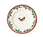 Winter Robin Tiny Plate
