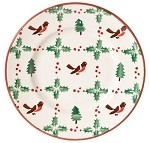 Winter Robin Side Plate
