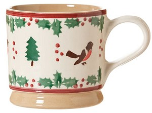 Winter Robin Large Mug