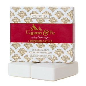 Cypress & Fir Soap Gift Boxed Set
