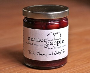 Quince and Apple Tart Cherry and White Tea Jam