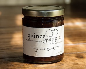 Quince and Apple Fig and Black Tea Jam