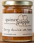 Quince and Apple Orange Marmalade w/Lemon