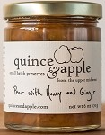 Pear with Honey and Ginger Jam