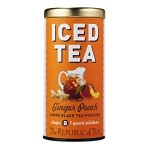 Ginger Peach Large Iced Tea Pouches