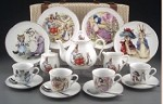 Beatrix Potter Large Tea Set in Case
