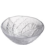 Simon Pearce Birch Leaf Centerpiece Bowl