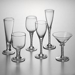 Engraved Stratton Stemware