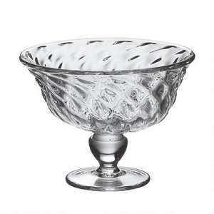 Royalton Optic Footed Bowl
