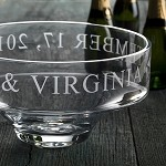 Engraved Modern Celebration Bowl