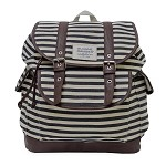 Sloane Ranger Denim Stripe Slouch Backpack