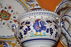 Gallo Small Tureen in Blue (COPY)