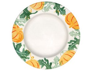 Pumpkin Lunch Plate
