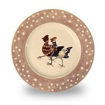 Rosie's Hens Plover Lunch Plate
