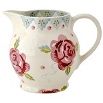 Rose and Bee 1/2 Pint Jug