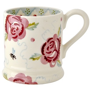 Rose and Bee 1/2 Pint Mug