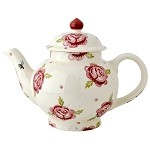 Rose and Bee 4 Cup Teapot