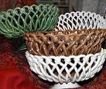 Pichon Round Ceramic Basket - Large