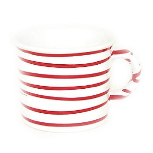 Vertigo Flame Red Swirl Coffee Mug