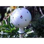 Scattered Blooms Garden Globe Small